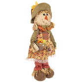 Girl Standing Scarecrow
