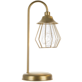 Gold Wire Metal Desk Lamp