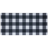 Black & White Buffalo Check Doormat