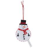 Snowman Ornaments Felt Craft Kit