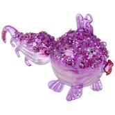 Pink Glitter Blowfish Ornament