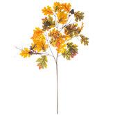 Oak Leaf Branch With Acorns & Berries