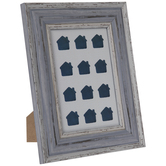 Blue Tiny Homes Framed Wood Decor
