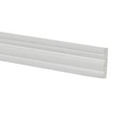 Miniature White Baseboards