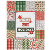 """Home For The Holidays Paper Pack - 8 1/2"""" x 11"""""""