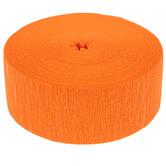 Orange Crepe Streamer