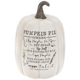 White Pumpkin With Pumpkin Pie Recipe