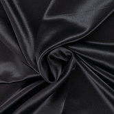 Black Crepe Back Satin Fabric