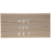 Letter Board & Letters Wood Wall Decor