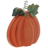 Pumpkin With Leaf