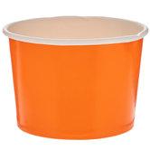 Orange Paper Snack Cups
