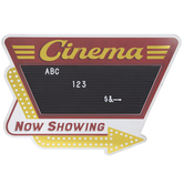 Cinema Letter Board