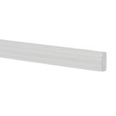 Miniature White Stair Rail Moulding
