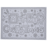 Holiday Activities Placemats