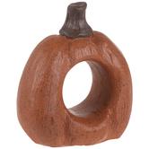 Orange Distressed Napkin Ring