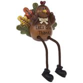 Let's Give Thanks Turkey Shelf Sitter