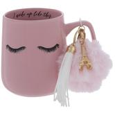 I Woke Up Like This Eyelashes Mug & Key Chain